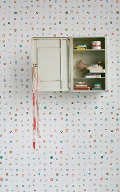 studio ditte / Button wallpaper