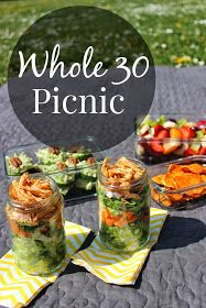 lew party of 2: Picnic: Whole 30 Style
