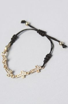 The Gloom and Doom Bracelet in Gold and Black by *Accessories Boutique  #MissKL #SpringtimeinParis