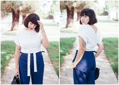 Tutorial: Refashioned wrap blouse – Sewing (via Bloglovin.com )