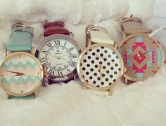 Cute watches Kick start your weight loss today with www.skinnycoffeeclub.com. Plus get 10% off with the code PINTEREST10 at the end of checkout.