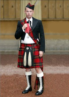 """""""When the Queen made designer Alexander McQueen a Commander of the British Empire in 2003, he flourished his Scottish roots by wearing a kilt in the McQueen tartan. His Highland heritage shaped his life and his art to great effect. His ashes are scattered on the Isle of Skye."""" -- Tim Blanks"""