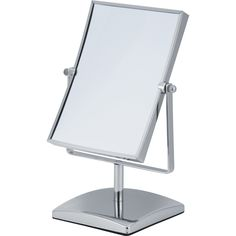 Showerdrape Teris- Chrome Freestanding Rectangular Reversible Vanity Mirror for sale online Silver Room, Modern Colors, Framing Materials, Vanity, Steel, Frame, Mirror Glass, Ebay, Home Decor