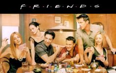 Friends...best show ever! I have every season LOVE them!