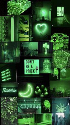 Neon Green Aesthetic Wallpapers - Top Free Neon Green