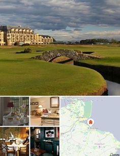 Ce superbe hôtel de cure est situé sur la côte de St. Andrews, à deux pas du musée du Golf. Il est niché sur une superbe propriété, à 10 min à pied des transports publics.
