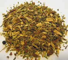Vata Dosha Tea - organic ayurvedic tea great for relaxation and stress reduction. Ayurvedic Tea, Ayurveda, Organic Superfoods, Herbal Tea, Raw Food Recipes, How To Dry Basil, Herbalism, Paleo, Herbs