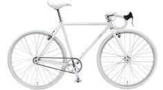 White Fuji Feather Bike