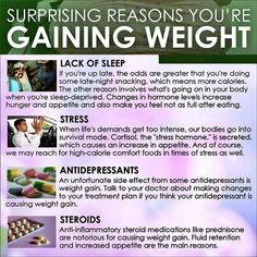 Surprising reasons you are gaining weight