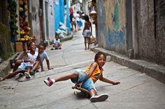Spontaneous Moments, Vidigal, Rio de Janeiro, Brazil, kids, playing, joy, Anna Karatvuo