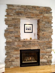 Welcome to StoneRox - - a superior, manufactured stone veneer. Our products are designed for both residential & commercial properties. Fireplace Gallery, Fireplace Wall, Fireplace Design, Manufactured Stone Veneer, Stone Cladding, House Projects, Family Room, Future, Architecture