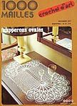 1000 Mailles № 17 11-1977 Napperons ovales