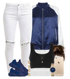 """Ehh  Goodnight everyone "" by livelifefreelyy ❤ liked on Polyvore featuring New Look, FiveUnits, NIKE, adidas Originals, Joolz by Martha Calvo, Gucci, Maison Margiela and Michael Kors"