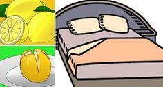 Ajoutez du sel à un citron et placez le près de votre lit, les résultats sont incroyables !