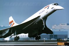 Aerospatiale-British Aerospace Concorde 102 aircraft