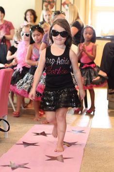 Barbie Glam Birthday Party Ideas | Photo 1 of 23 | Catch My Party