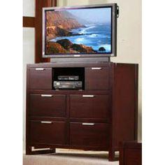 Camarillo Merlot Tv/Media Chest Media StorageMerlot Finish Finish 40 Inches High 45 Inches Wide 20 Inches Deep 580