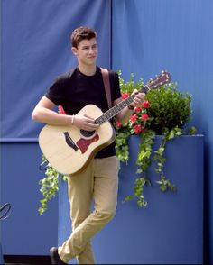 His first love is music and his guitar