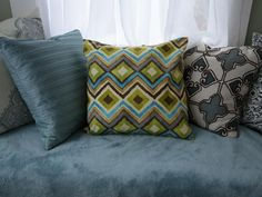 Throw pillows can be the easiest and most inexpensive way to update a room. Check out three ways to make pillows that don't require a sewing machine or a lot of money.