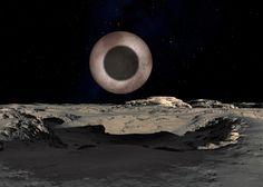 Cień Charona , na Plutonie