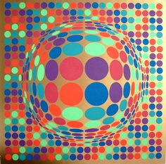 Lynt by Victor Vasarely