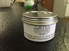Arnica Salve by bluemntapothecary on Etsy Arnica Salve, Frankincense Essential Oil, All Natural Skin Care, Blue Mountain, Skin Problems, Apothecary, Candle Jars, Peppermint, Coconut Oil
