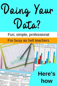Make your data work for YOU. Collect it formative data and use it to show who needs what in your classroom. Read on to see an easy tool for teachers to collect, graph and analyse data YOUR way! Learn to love data! Data Show, Learn To Love, Rubrics, Stress Free, Assessment, Work On Yourself, Make It Simple, Organize, Classroom