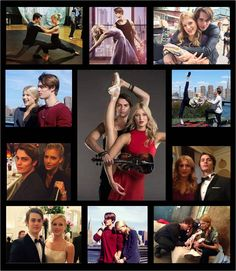 Meet the stars of @HighStrungMovie. #RUBY played by real life ballerina @KeenanKampa and #JOHNNIE played by @NicholasGalitzine. Thanks @m1t2v for this beautiful collage!