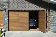 Parma Bifold Garage Doors In Walnut Ref Bi 51 Door Bottom Seal