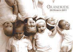 Grandkids - Scrapbook.com - such a cute idea!