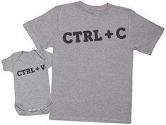 PACK camisetas manga corta JEFE JEFAZO en color gris (un