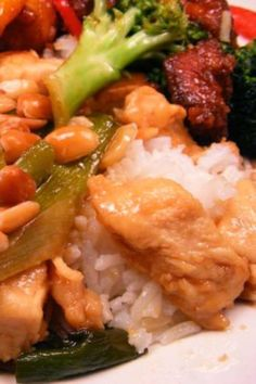 Kung Pao Chicken | It's so quick and easy for a week night meal and has such wonderful flavor.