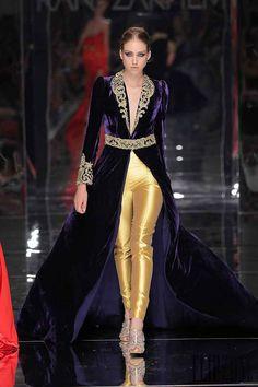 Rani Zakhem – 68 photos - the complete collection Fashion Mode, Abaya Fashion, Fashion Pants, Fashion Dresses, Elegant Outfit, Elegant Dresses, Pretty Dresses, Oriental Dress, Oriental Fashion