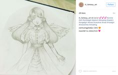 Start an Instagram account dedicated to your child's artwork, so long-distance friends and family can enjoy it too.