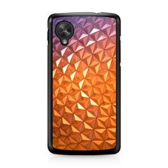 Disney World Resort Epcot Spaceship Earth Nexus 5 case