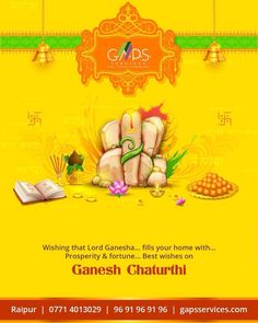 May Lord fills your Home with and on Lord Ganesha, Real Estate, Organization, Getting Organized, Real Estates, Organisation