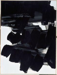 Pierre Soulages -- Peinture 260 x 202 cm, 19 juin 1963. Huile sur toile.
