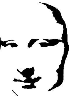 Making a face stencil
