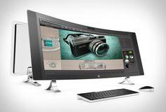 O novo desktop da Hp é o HP ENVY, possui uma tela espetacular curvada de 34 polegadas e um design cuidadoso, é um show de entretenimento. O HP ENVY é um impressionante computador alimentado pelo Intel Core de sexta geração, com