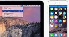 iOS 8.1: así puedes compartir internet desde tu iPhone... sin tocar el iPhone