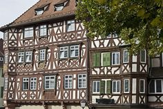 The pretty town of Mosback, Baden Wuerttemburg, Germany, headquarters of OM Ships