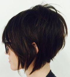 Short Shaggy Bob Haircut