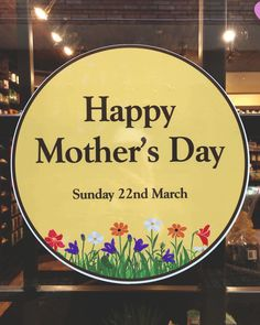 Mother's Day Shop Window Stickers & Decals ideal for gift shops, restaurants and retail outlets. Decals available in a size & colour of your choice. Mobile Friendly Website, Static Cling, Important Dates, Window Stickers, White Ink, Color Themes, Happy Mothers Day, All Design, Kids Playing