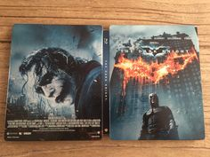 The Dark knight steelbook.