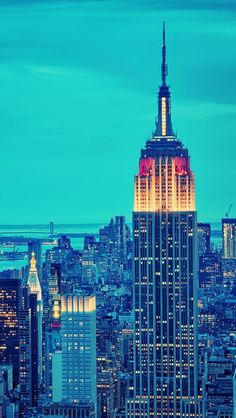 Cityscapes New York City ~ Empire State Building