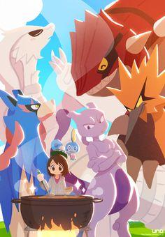 Pokemon Mew, Pokemon Comics, Pokemon Fan Art, Pokemon Ships, Pokemon Funny, Cool Pokemon, Pokemon Cards, Pokemon Fusion, Cute Pokemon Pictures