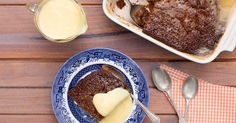 Our malva pudding is a fresh and convenient take on a traditional South African recipe. We also offer some tips on how to make the dessert sweeter and richer. Delicious Deserts, Great Desserts, Dessert Recipes, Lacto Vegetarian Recipe, South African Desserts, Malva Pudding, Moist Carrot Cakes, Food Experiments, Pudding Recipes