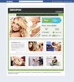#GROUPON applications built for their Facebook pages