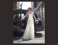Robe de mariée droite Stephanie Allin 2014