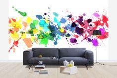 Watercolour Rainbow - Wall Mural & Photo Wallpaper - Photowall